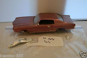 1970 70 Chevy Monte Carlo Model Car Kit Junk Parts Project