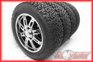 "20"" Toyota Tundra Sequoia Factory Chrome Wheels BFG All Terrain Tires 22 TRD"