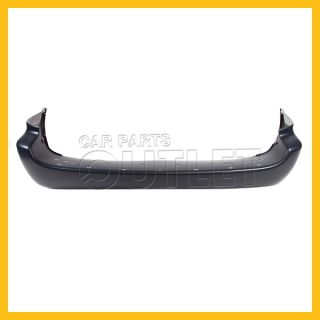 2001 2007 Dodge Grand Caravan Rear Bumper Cover CH1100219 Primered Exhaust on RH