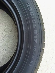 Nokian Hakkapeliitta R Snow Winter Tires Set of 4 235 55R17 235 55 17