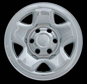 "05 11 Toyota Tacoma 16"" Chrome Wheel Skins"