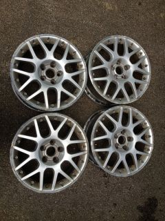 "VW 17"" BBs Passat W8 Wheels Rims 2 Piece Set Madras Sport Audi Volkswagen"