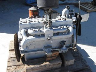 Dodge Plymouth DeSoto Chrysler Flathead Six Engine Complete
