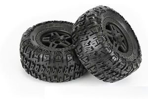 "Pro Line Monster Truck M2 3 8"" All Terrain Tires 40 Series Tech 5 MOUNTED1160 13"