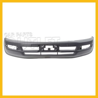 96 97 Toyota RAV4 Front Bumper Cover Matte Dark Gray Textured Wo Side Flare Hole