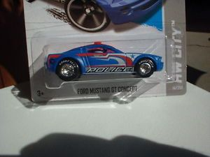 Hot Wheels 2013 Treasure Hunt Reg Ford Mustang GT Concept Custom Wheels R R