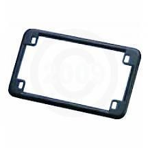 Harley Black Motorcycle Metal License Plate Frame