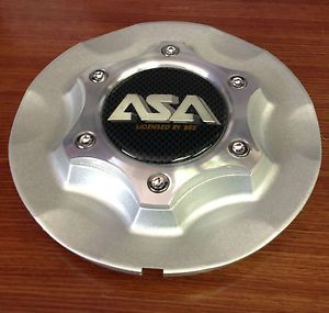 ASA RS2 Silver Licensed by BBs Wheel Rim Center Cap RS2 C2P 8B622 RS2 02