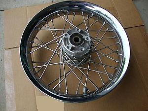 Harley Davidson 40 Spoke Chrome Rear Wheel 16 x 3 Chopper Bobber No Res