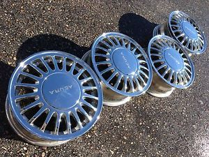 "16"" Acura Legend Honda Accord Vigor R JDM Factory Stock Chrome Wheels Rims"