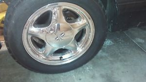 Ford Mustang 1990 5 0 Chrome Pony Wheels Rims Rim Wheel