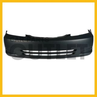 02 03 04 Toyota Camry Le XLE Front Bumper Cover Primed w O Fog Light Hole