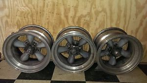 American Racing Torq Thrust 15x8 5 Wheels Rims Chevy Camaro Nova Chevelle SS