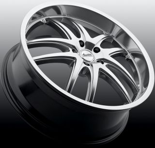 18x8 Advanti Racing Maui 5x110 40 Mirror Polish Rims Wheels
