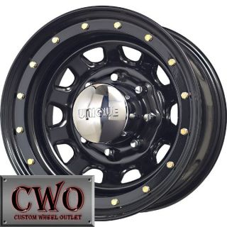 15 Black Unique 252 Wheels Rims 5x114 3 5 Lug Jeep Wrangler Ranger Explorer