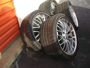 "4 x 20"" Breyton Race CS Alloy Wheels Michelin Pilot Sport BMW M3 M5 M6 x6 745"
