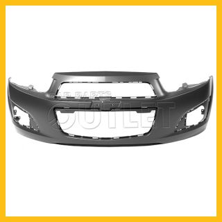 2012 2013 Chevy Sonic Front Bumper Cover New GM1000928 Primered Facial Plastic