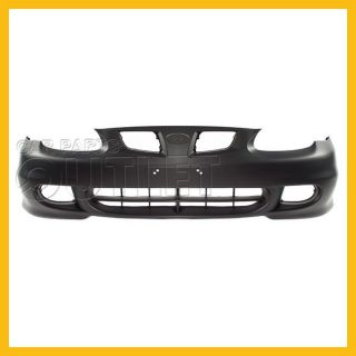Front Bumper Cover Primered Black Facial HY1000127 New for Hyundai Elantra GLS