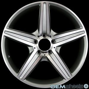 "19"" Gunmetal Grey Wheels Fits Mercedes Benz AMG S400 S550 S600 S63 S65 W221 Rims"