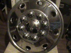 8 Lug Steel Wheels 16