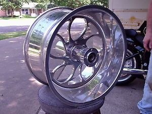 Custom Motorcycle Rear Wheel 18 x 10 5