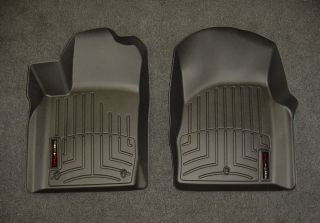 WeatherTech Digital Fit Black Front Floor Mats Liners 11 12 Jeep Grand Cherokee