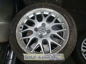 VW Golf MK4 Studded BBs Alloy Wheel 205 45 16