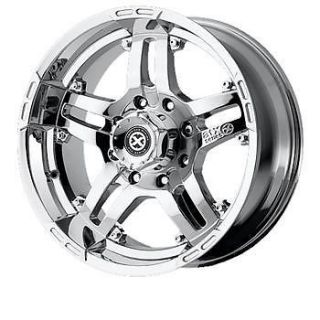 20x8 5 Chrome American Racing ATX Artillery Wheels 5x150 35 Toyota Tundra