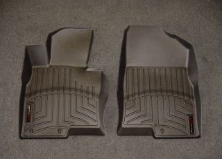 WeatherTech Digital Fit Black Front Floor Mats Liners 11 13 Kia Optima 442961