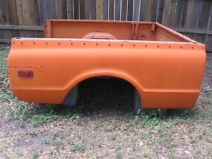 67 72 Chevy GMC Truck Short Wide Bed SWB Fleetside Bed in Good Condition