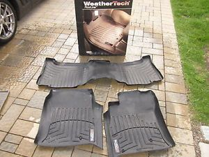 WeatherTech Floor Mats Lexus GX470 03 09 Front and Rear Seats