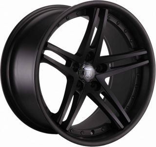 "19"" Rohana RC5 Matte Black Wheels Rims Fits Mercedes E Class W210 211 212 1996"