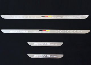 Doors Sill Stainless Scuff Plate for Mercedes Benz AMG Affalterbach Edition