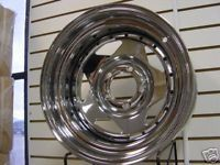 Black Mountain Rock Wheel Jeep Chrome Steel Rim