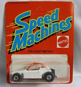 Hot Wheels 1980's Black Wall Speed Machines Rock Buster