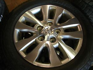 "4 20"" Toyota Tundra Sequoia 10 Spoke Wheels Rims Bridgestone Tires 69533"