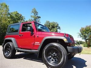 2012 Jeep Wrangler Black Wheels