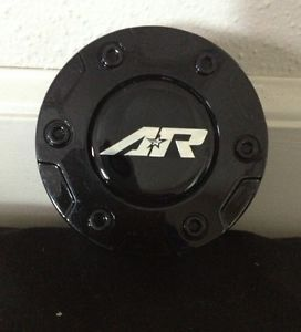 American Racing Black Custom Wheel Center Cap Part SC 136B