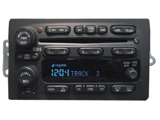 2004 05 06 Chevy Tahoe Suburban Blazer Silverado Radio 6 Disc CD Changer Repair