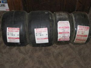 Set 4 Brand New Bridgestone Racing Kart Tires
