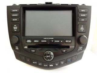 Repair Service for Honda Accord Navigation GPS System 6 Disc Changer CD Player