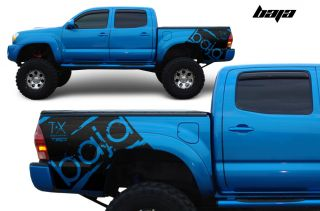 Toyota Tacoma TRD Art Fender Graphics Vinyl Sticker Decal Matte Bed Parts Baja