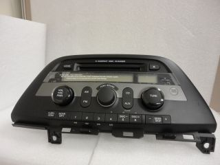 Honda Odyssey 6 Disc Changer  CD Player Aux Radio Stereo Factory 1BU3