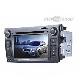 2 DIN Car DVD Player with GPS for Toyota Corolla