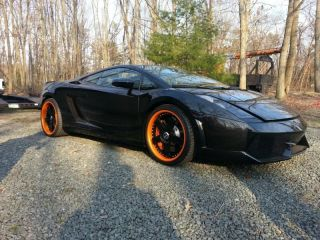 Lamborghini Gallardo Wheels Avus Custom Wheels Orange Lips