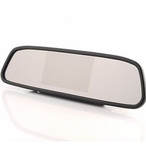 "4 3"" TFT Screen LCD Car Rearview Mirror Monitor for Car Rear View Camera DVR"