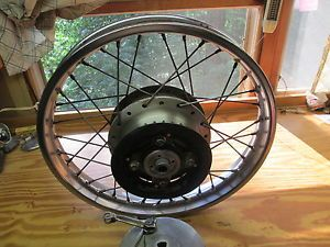 "Honda CB350 Rear Rim Back Rim Wheel 18"" Did Used Honda Motorcycle Parts Cafe"