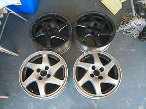 4 Acura Integra GSR Blades Wheels Rims 4 100 15""