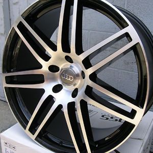 "22"" Audi Q5 Wheels Rims for Audi Q5 Mercedes Benz GL450 550 5x112 ET42 4NEW"