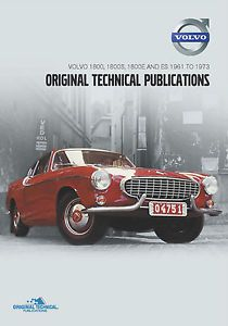 Volvo P1800 Parts Service Manual DVD More TP 51949